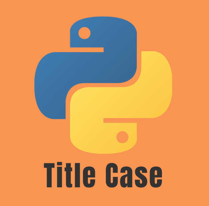 Convert a string to Title Case
