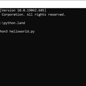 Creating Python Programs