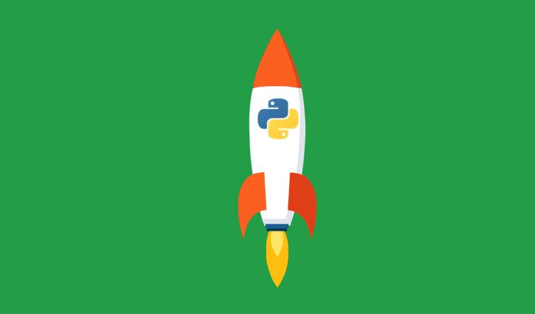 Python Rocket illustration