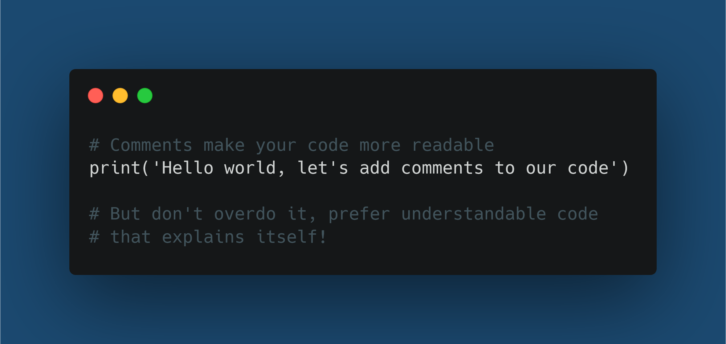 Python Comment: What It Is And How to Create