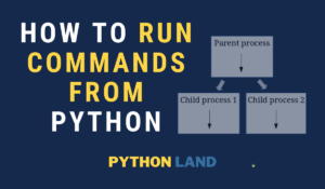 Python Subprocess: Run External Commands
