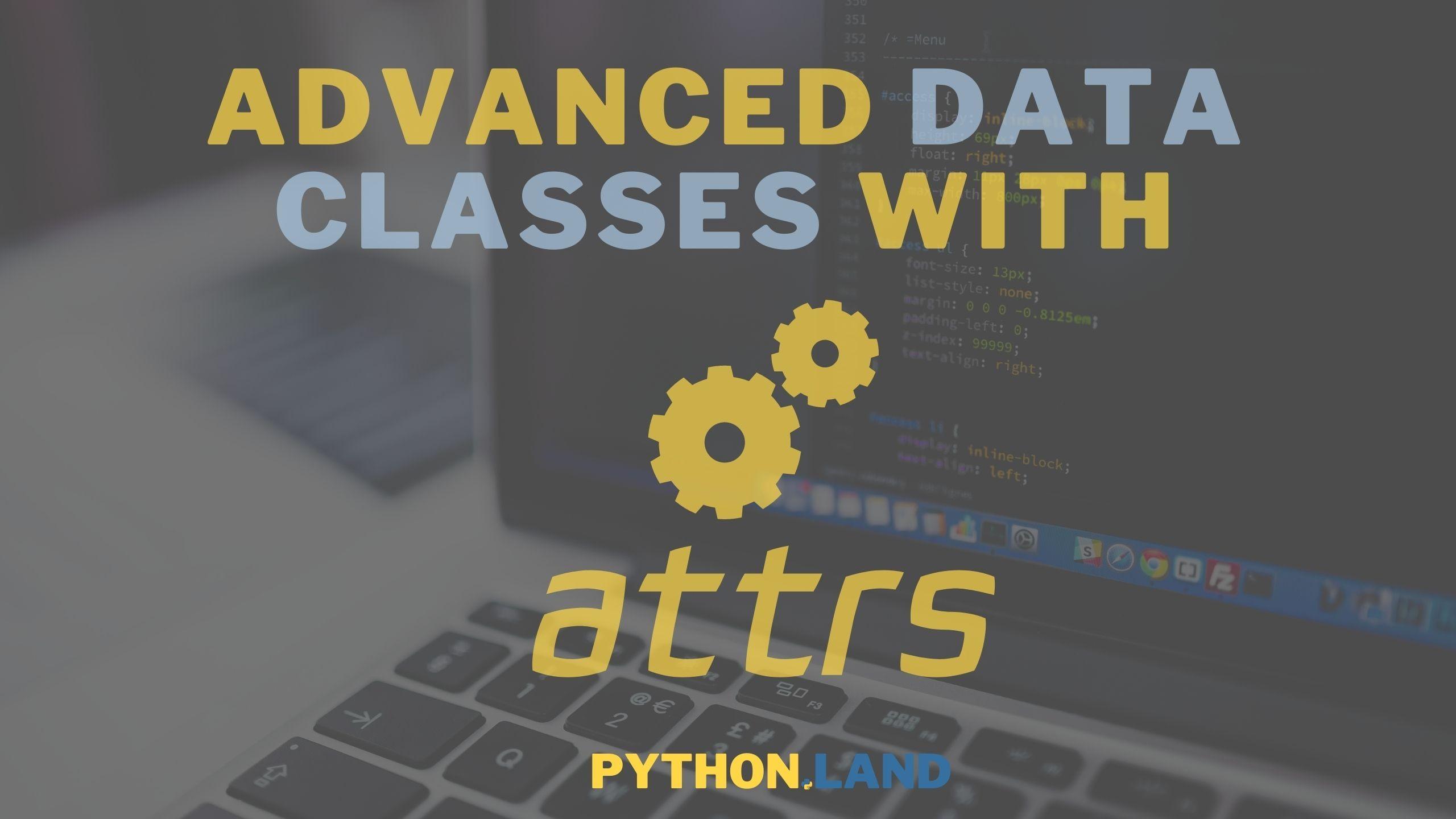 Python attrs