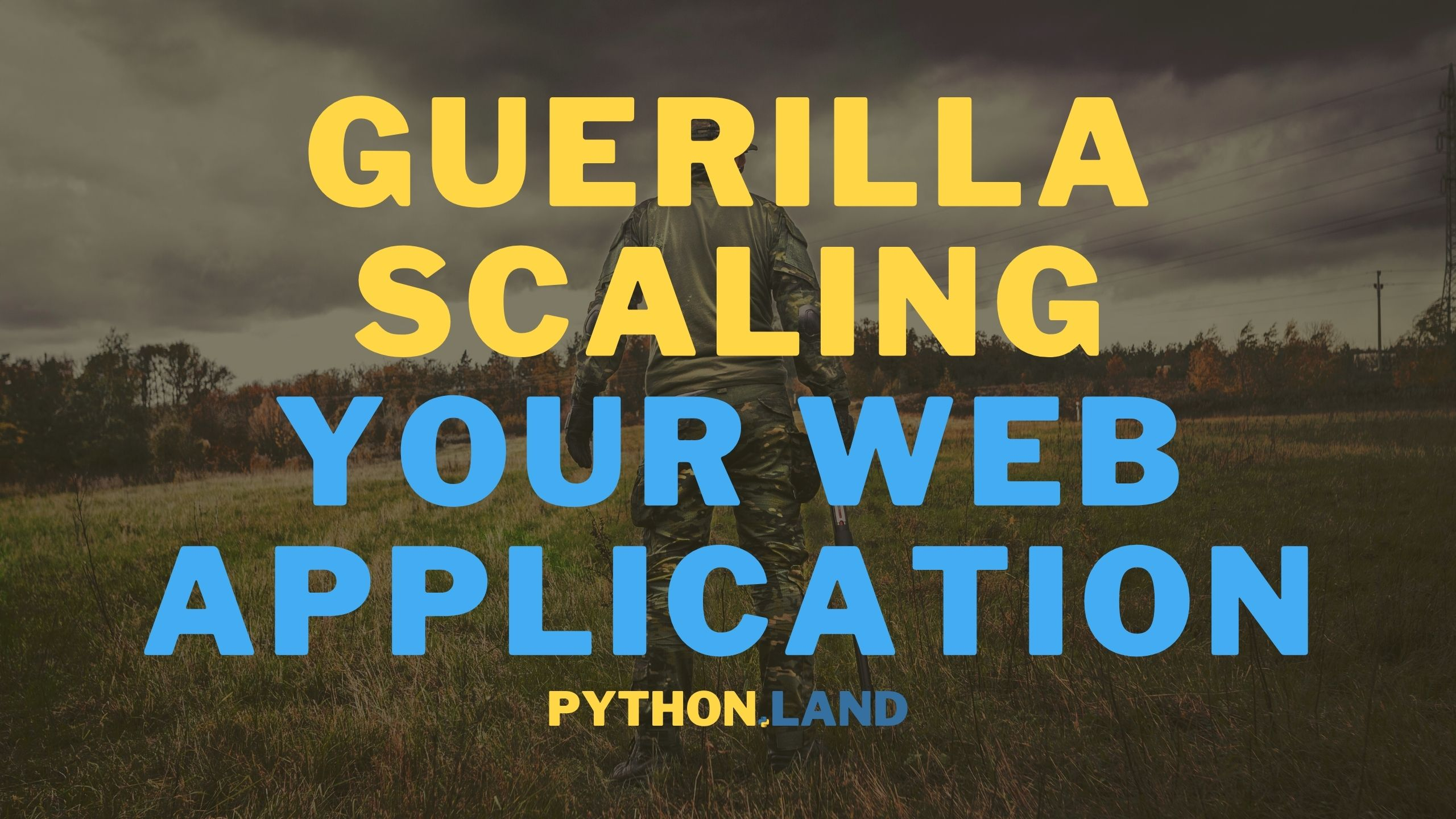 Scaling web application